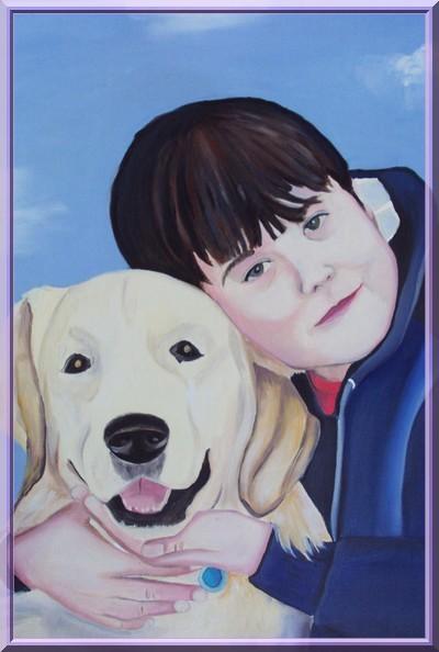 Ritratti A Olio Con Animali Su Commissione Cani E Gatti E Ritratti A